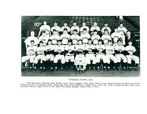 1952 Pittsburgh Pirates