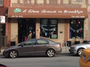 A Shoe Grows in Brooklyn