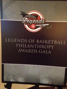 Larry Hochman Legends of Basketball Philanthropy Awards Gala