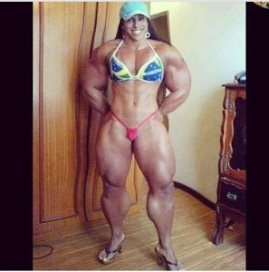 larry hochman female bodybuilder photoshop