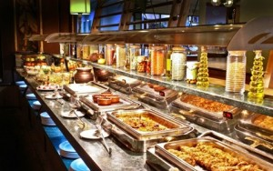 losing weight on a cruise ship buffet