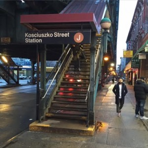 larry hochman brooklyn subway station